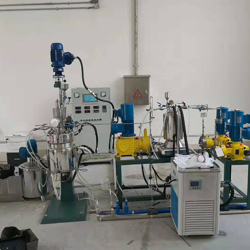 大连物理化学研究所-抽真空连续反应小试系统项目