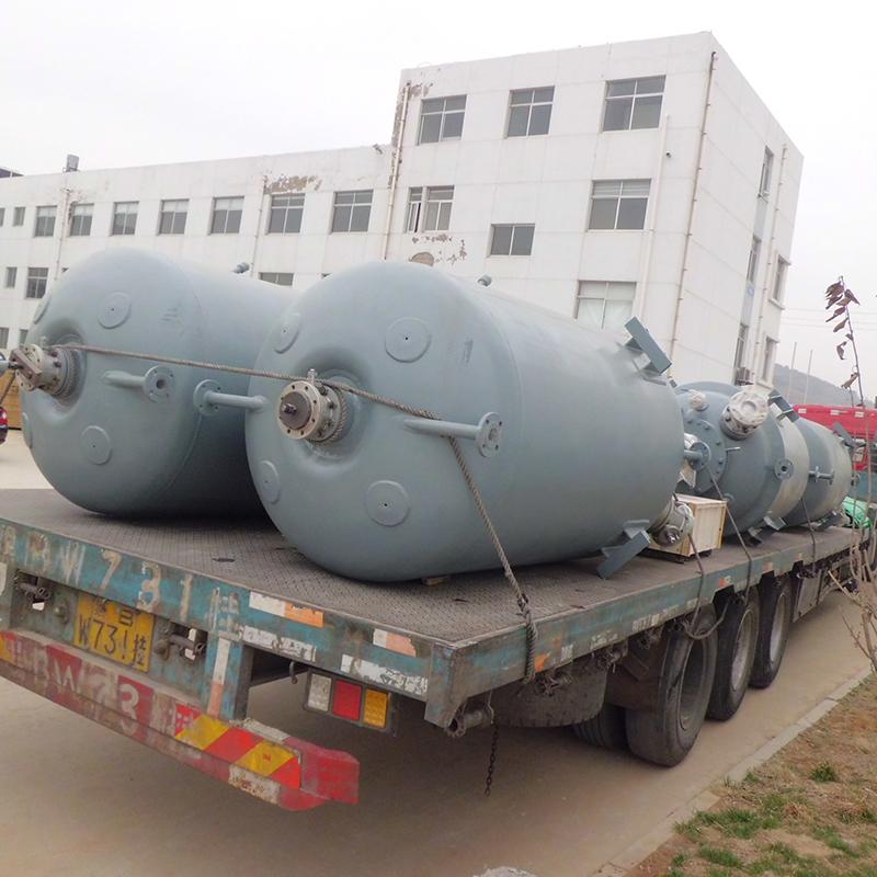 贵州毕节-6台2000L加氢反应釜项目
