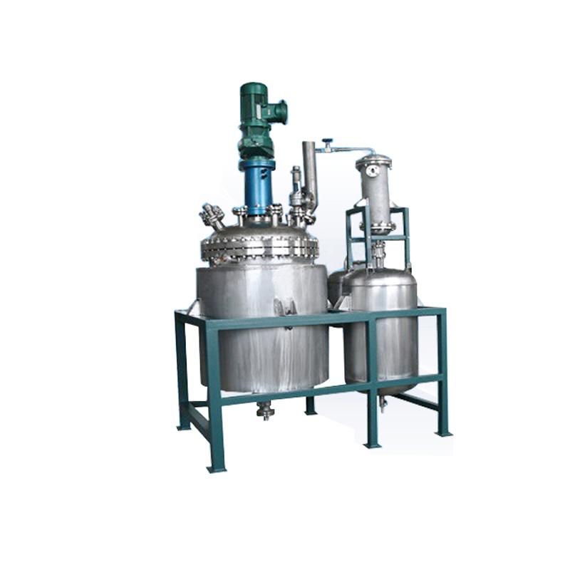 减压蒸馏反应系统