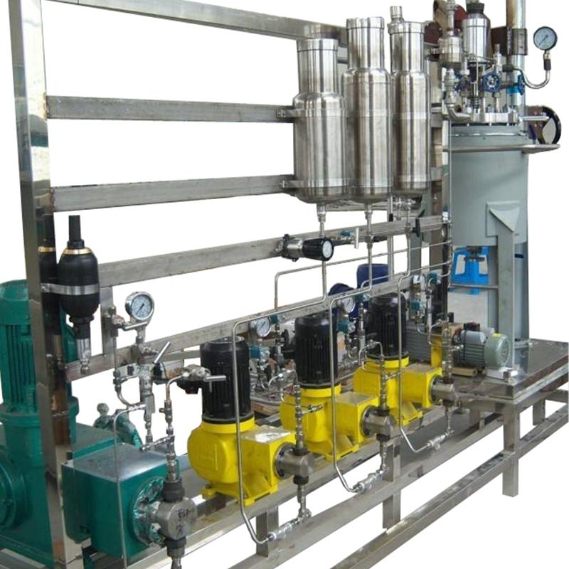 台湾奇美化工集团-100L反应釜成套装置