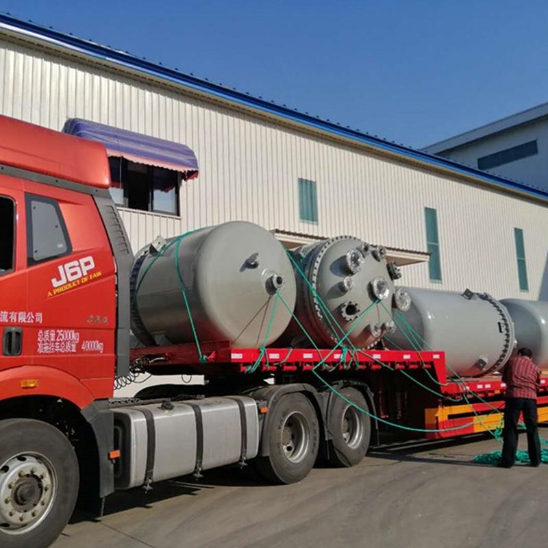 内蒙古大化工4台不锈钢反应釜项目