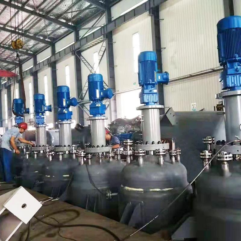 湖南时代新材-聚合反应项目6台3000L高压反应釜