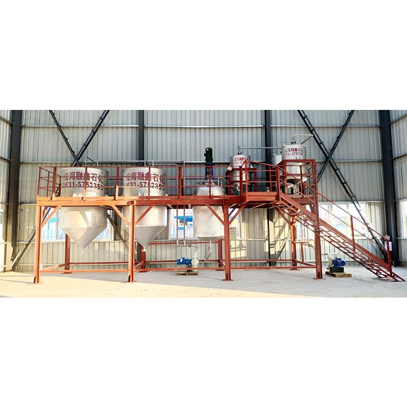 宁波交工建设集团土壤固化剂生产线